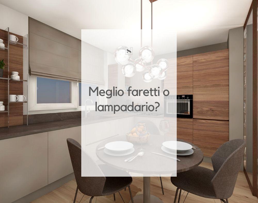 Meglio Faretti O Lampadario Silvia Orlandi Designer